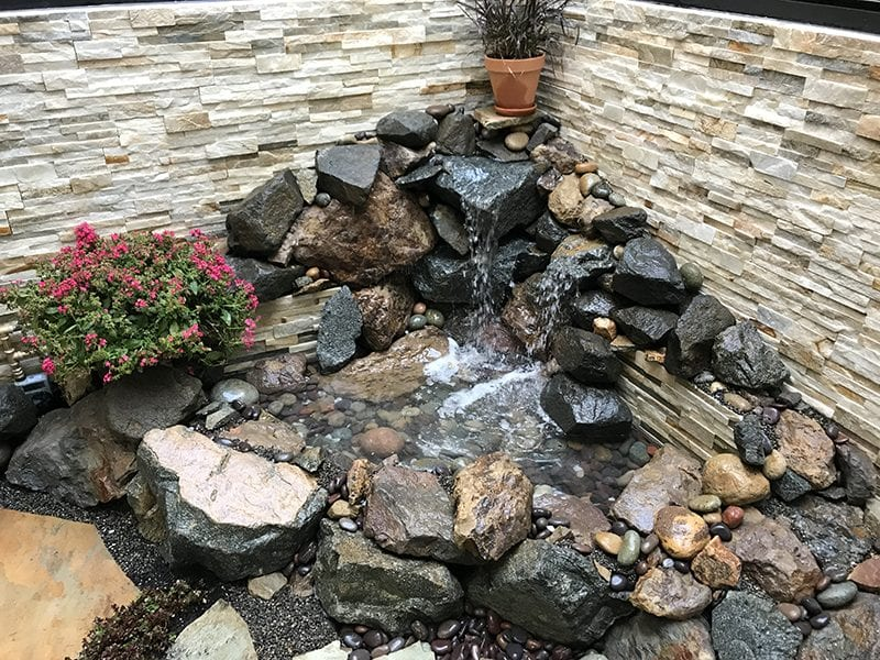Pondless Water Feature SoCal